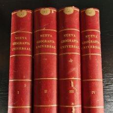 Libros antiguos: NUEVA GEOGRAFÍA UNIVERSAL , OBRA COMPLETA 1881 , MONTANER Y SIMON , BARCELONA. RARA ¡!!!!!!!!!. Lote 126860303