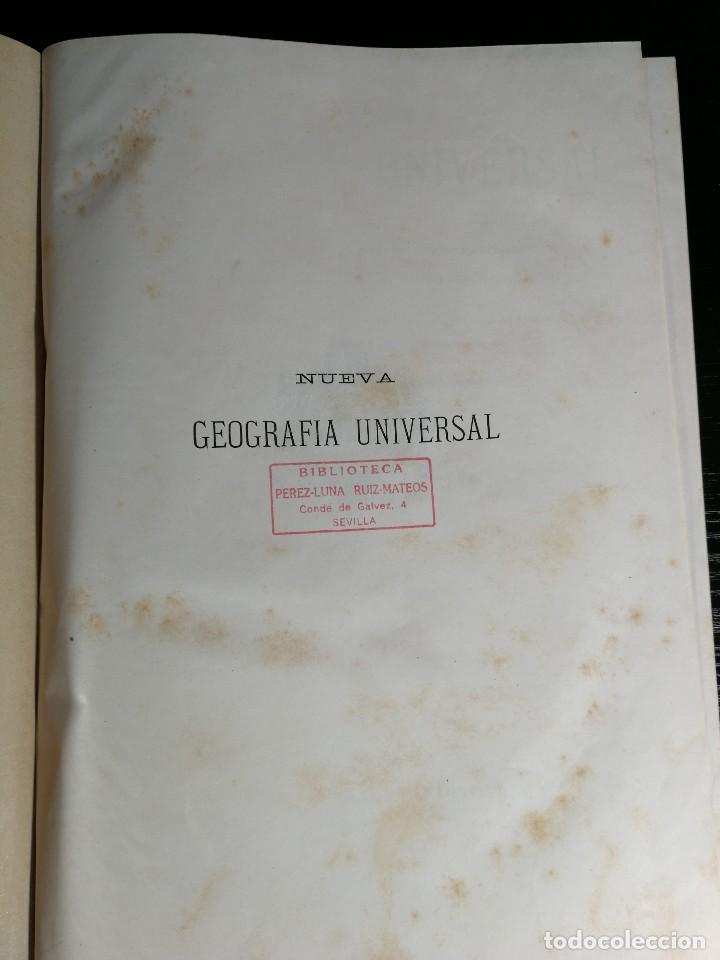 Libros antiguos: NUEVA GEOGRAFÍA UNIVERSAL , Obra Completa 1881 , Montaner y Simon , Barcelona. RARA ¡!!!!!!!!! - Foto 2 - 126860303