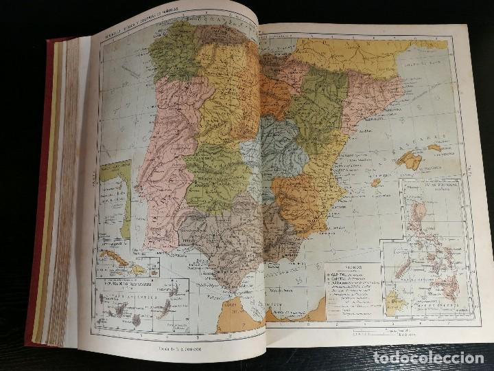 Libros antiguos: NUEVA GEOGRAFÍA UNIVERSAL , Obra Completa 1881 , Montaner y Simon , Barcelona. RARA ¡!!!!!!!!! - Foto 5 - 126860303