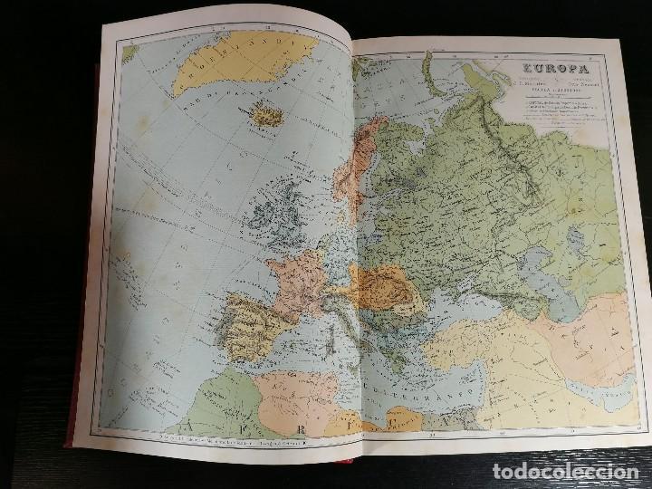 Libros antiguos: NUEVA GEOGRAFÍA UNIVERSAL , Obra Completa 1881 , Montaner y Simon , Barcelona. RARA ¡!!!!!!!!! - Foto 6 - 126860303