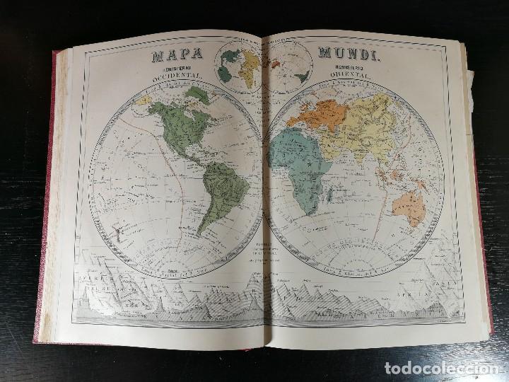 Libros antiguos: NUEVA GEOGRAFÍA UNIVERSAL , Obra Completa 1881 , Montaner y Simon , Barcelona. RARA ¡!!!!!!!!! - Foto 7 - 126860303