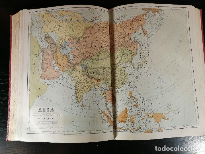 Libros antiguos: NUEVA GEOGRAFÍA UNIVERSAL , Obra Completa 1881 , Montaner y Simon , Barcelona. RARA ¡!!!!!!!!! - Foto 8 - 126860303