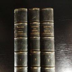 Libros antiguos: OBRA COMPLETA GEOGRAFIA UNIVERSAL MALTE – BRUN , MONTANER Y SIMON 187 , 3 VOL. RARA ¡!!!. Lote 126860567