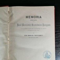 Libros antiguos: MEMORIA HISTORICO – CRÍTICA DELA REAL SOCIEDAD ECONÓMICA JEREZANA 1862, RARO !!!!. Lote 126860683