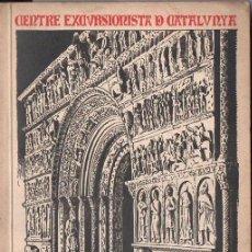 Libros antiguos: DANÉS I VERNEDAS : MONOGRAFÍA DE SANTA MARÍA DE RIPOLL (1923) MUY ILUSTRADO - EN CATALÁN. Lote 126923399