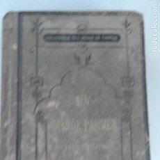 Libros antiguos: UN MARIAGE PARISIEN . EMMELYNE RAYMOND PARIS 1876. (FRANCES). . Lote 126948099