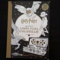 Libros antiguos: LIBRO DE HARRY POTTER PARA COLOREAR. DE SALANI EDITORE. LIBRO DE POSTALES. Lote 126986439