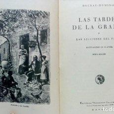Libros antiguos: LAS TARDES DE LA GRANJA. POR DUCRAY - DUMINIL. EDITORIAL SATURNINO CALLEJA, 1935. ILUSTRADA.. Lote 127085335