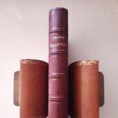Libros antiguos: TRATADO DE MECANICA RACIONAL. M. CH. DELAUNAY. PUBLICADO IMP. VIUDA E HIJOS DE ABIENZO. MADRID 1884. Lote 127166211