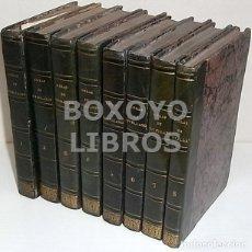 Libros antiguos: OBRAS DEL EXCMO. SR. MELCHOR GASPAR DE JOVELLANOS. 8 TOMOS. 1839. ILUSTRADAS CON NUMEROSAS NOTAS. Lote 47583095
