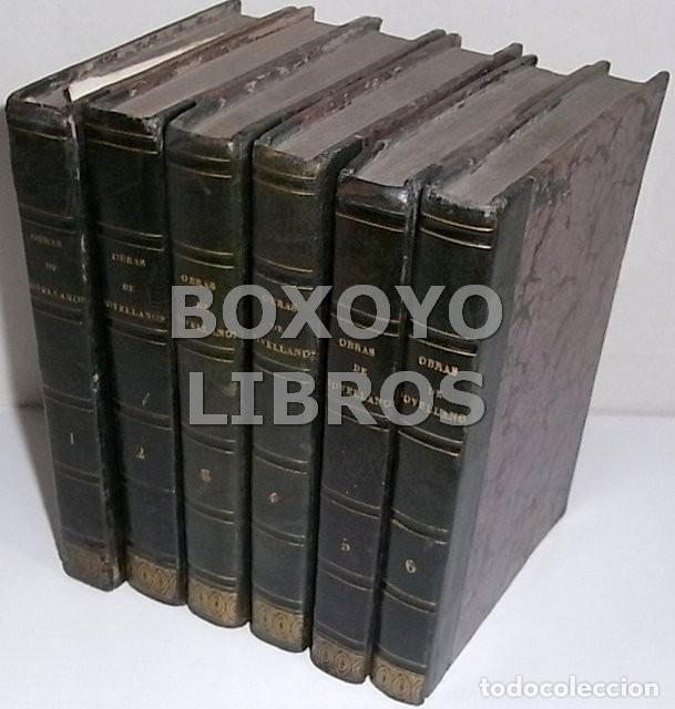 Libros antiguos: Obras del Excmo. Sr. Melchor Gaspar de Jovellanos. 8 tomos. 1839. Ilustradas con numerosas notas - Foto 14 - 47583095