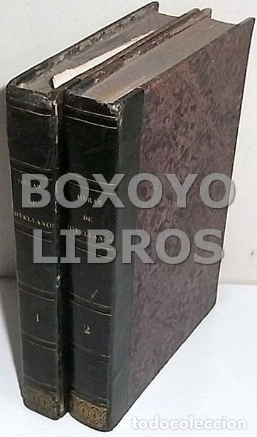 Libros antiguos: Obras del Excmo. Sr. Melchor Gaspar de Jovellanos. 8 tomos. 1839. Ilustradas con numerosas notas - Foto 6 - 47583095