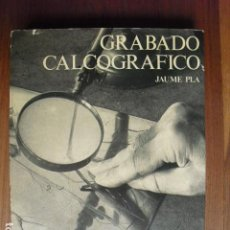 Libros antiguos: GRABADO CALCOGRAFICO CON UNA NOTA SOBRE BIBLIOFILIA JAUME PLA. Lote 127238879