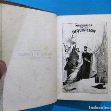 Libros antiguos: MISTERIOS DE LA INQUISICIÓN. TOMO I. POR M.V. DE FEREAL. IMP. Y LIB. ESPAÑOLA Y EXTRANJERA, 1845.. Lote 127330259