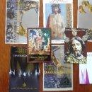 Libros antiguos: PROGRAMA OFICIAL SEMANA SANTA JEREZ VARIOS AÑOS Y PEGATINAS CON CARTEL. Lote 127366935