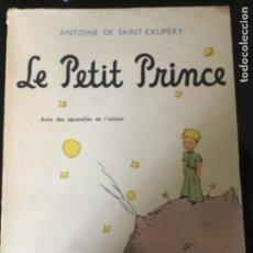 Libros antiguos: LE PETIT PRINCE, GALLIMARD 1957 (EL PRINCIPITO). Lote 127444627