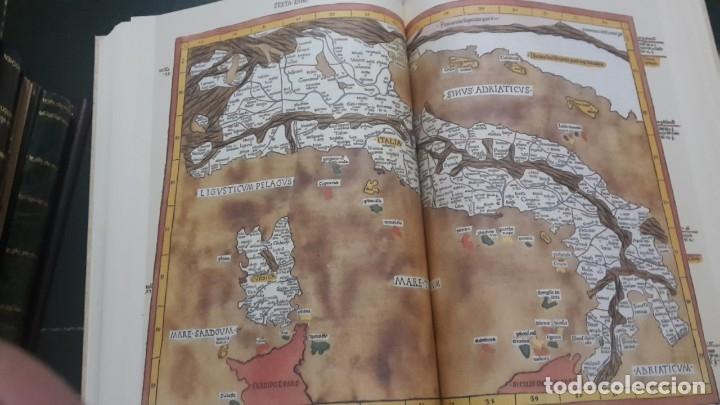 Libros antiguos: MUNDUS NOVUS ET VETERUS ,COSMOGRAFIA PTOLOMEO. - Foto 8 - 57012794