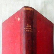 Libros antiguos: TRATADO PRACTICO DE GASOGENOS Y MOTORES DE COMBUSTION D. JOSE Mº SAINZ ED MADRID 1906. Lote 127548191