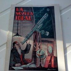 Libros antiguos: LA NOVELA IDEAL,JOHAS EL ERRANTE N'206 AÑOS 20. Lote 127572712