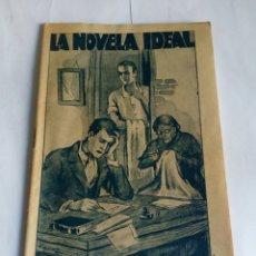 Libros antiguos: LA NOVELA IDEAL, ¡HAMBRE! N'324 AÑO 1932. Lote 127623187