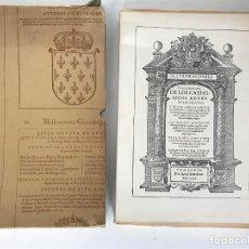 Libros antiguos: ESTEVAN DE GARIBAY. ILUSTRACIONES GENEALÓGICAS DE LOS CATÓLICOS REYES DE LAS ESPAÑAS. BARCELONA 1974. Lote 127638843