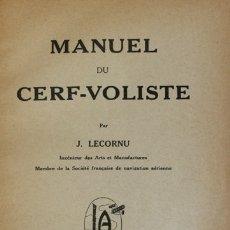 Libros antiguos: MANUEL DU CERF-VOLISTE. - LECORNU, J. BESANÇON, S.A. (C. 1913).. Lote 123207512