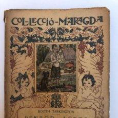 Libros antiguos: BOOTH TARKINGTON. PENROD, ACTOR. ILUSTRACIONES DE LOLA ANGLADA. Lote 127658231