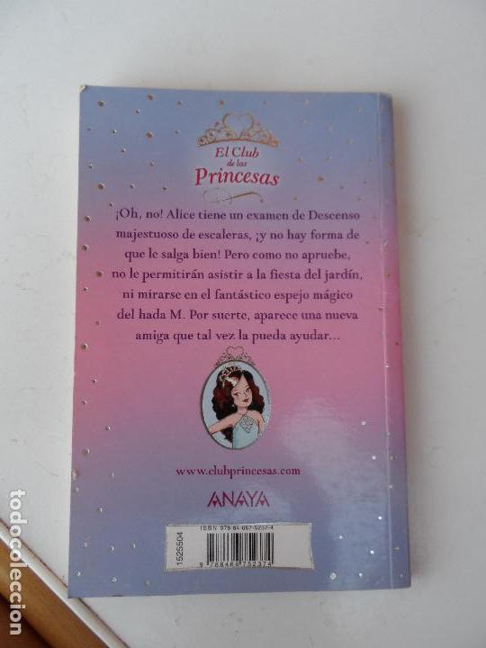 Libros antiguos: EL CLUB DE LAS PRINCESAS - LA PRINCESA ALICE Y EL ESPEJO MÁGICO. - Foto 2 - 127793747
