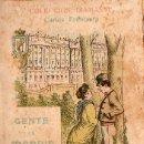 Libros antiguos: CARLOS FRONTAURA : GENTE DE MADRID SILUETAS Y SEMBLANZAS (COLECCION DIAMANTE, C. 1900) . Lote 127821423