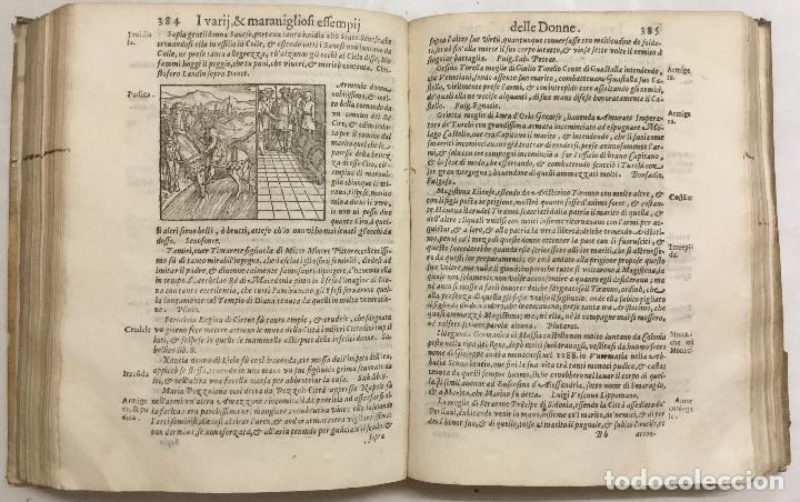 Libros antiguos: IL VAGO & DILETTEVOLE GIARDINO OVE SI LEGGONO GLI INFELICI FINI DI MOLTI HUOMINI ILLUSTRI. I varrii, - Foto 9 - 114798315