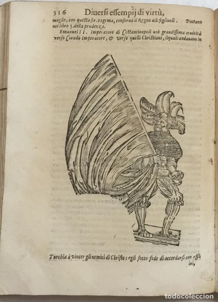 Libros antiguos: IL VAGO & DILETTEVOLE GIARDINO OVE SI LEGGONO GLI INFELICI FINI DI MOLTI HUOMINI ILLUSTRI. I varrii, - Foto 11 - 114798315