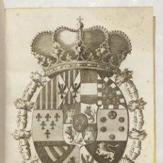 Libros antiguos: ESTATUTOS DE LA REAL ACADEMIA DE CIENCIAS NATURALES, Y ARTES DE LA CIUDAD DE BARCELONA.. Lote 123143840
