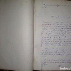 Libros antiguos: MANUSCRITOS DE CARLOS MARÍA RAMÍREZ DURANTE SU ETAPA EN LA LEGACIÓN ORIENTAL DEL URUGUAY 1873 - 75. Lote 127890103
