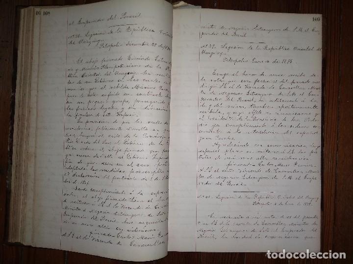 Libros antiguos: Manuscritos de Carlos María Ramírez durante su etapa en la Legación Oriental del Uruguay 1873 - 75 - Foto 5 - 127890103