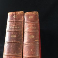 Libros antiguos: LA POLICÍA Y SUS MISTERIOS POR VICTOR MACÉ DE LA RONCIÈRE... TOMOS I Y II. 1888. CROMOLITOGRAFÍAS. Lote 127891619