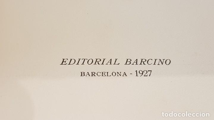 Libros antiguos: LA PESCA A CATALUNYA / EMERENCIÀ ROIG / EDITORIAL BARCINO - 1927 / BUENA CALIDAD. - Foto 8 - 127906243