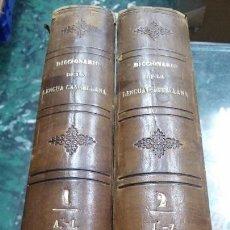 Libros antiguos: NUEVO DICCIONARIO POPULAR ENCICLOPÉDICO DE LA LENGUA CASTELLANA SEGUIDO DE LA RIMA . Lote 127946839
