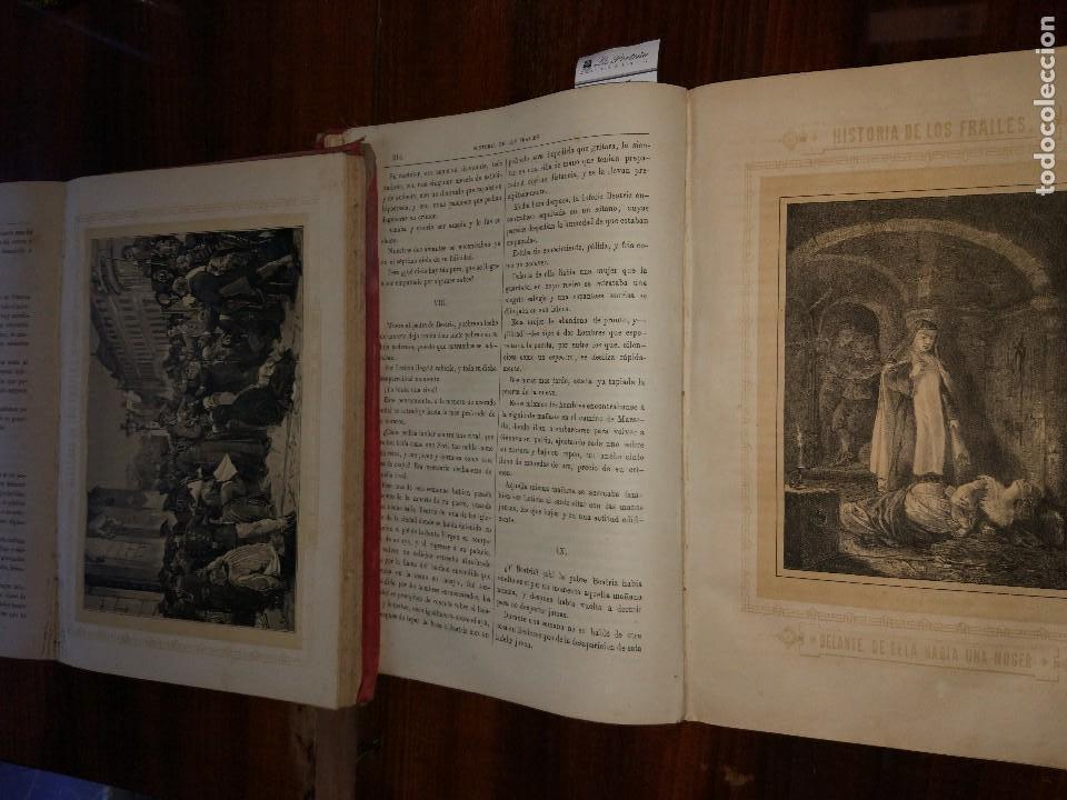 Libros antiguos: Historia de los Frailes y de sus Conventos.Antonio R. Zorilla. Edición Lujosa. Completa (2 Vol) S/F. - Foto 3 - 127965003