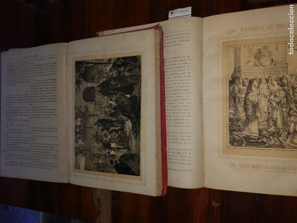 Libros antiguos: Historia de los Frailes y de sus Conventos.Antonio R. Zorilla. Edición Lujosa. Completa (2 Vol) S/F. - Foto 4 - 127965003