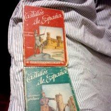 Libros antiguos: CASTILLOS DE ESPAÑA TOMO I Y III. Lote 127976847