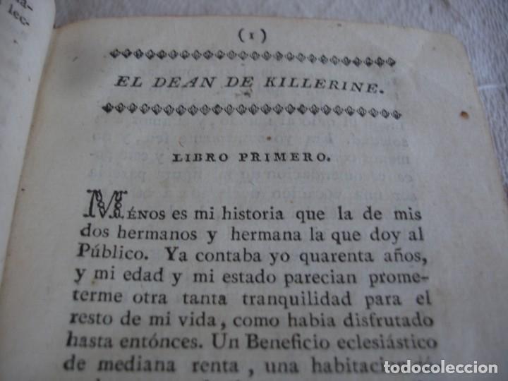 Libros antiguos: PREVOST: EL DEAN KILLERINE O SEA MEMORIAS DEL CONDE DE *** 1796 - Foto 4 - 127978523