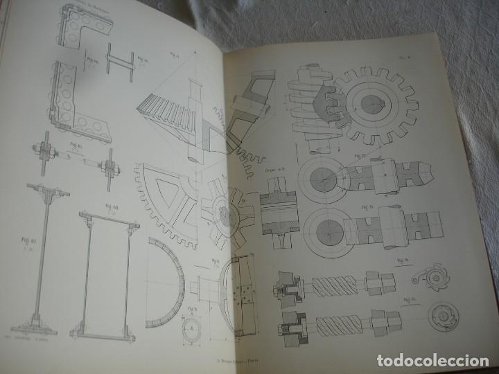 Libros antiguos: BACH, C.: ÉLÉMENTS DES MACHINES LEUR CALCUL ET LEUR CONSTRUCTION - Foto 4 - 127978647