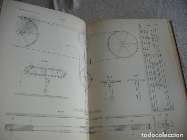 Libros antiguos: BACH, C.: ÉLÉMENTS DES MACHINES LEUR CALCUL ET LEUR CONSTRUCTION - Foto 5 - 127978647