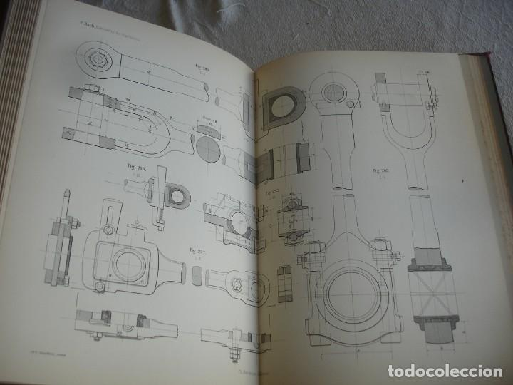 Libros antiguos: BACH, C.: ÉLÉMENTS DES MACHINES LEUR CALCUL ET LEUR CONSTRUCTION - Foto 7 - 127978647
