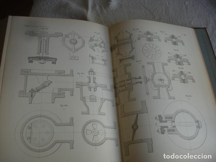 Libros antiguos: BACH, C.: ÉLÉMENTS DES MACHINES LEUR CALCUL ET LEUR CONSTRUCTION - Foto 8 - 127978647