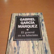 Libros antiguos: EL GENERAL EN SU LABERINTO . Lote 128053535