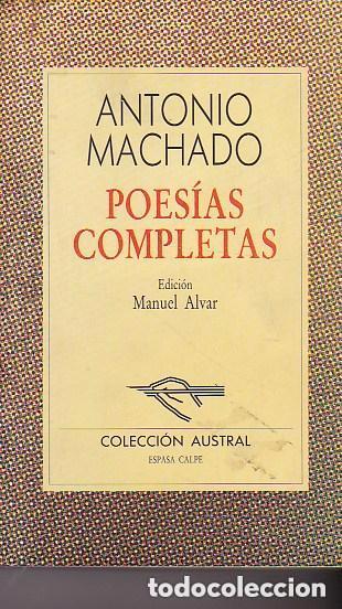 POESÍAS COMPLETAS (Libros Antiguos, Raros y Curiosos - Bellas artes, ocio y coleccionismo - Otros)