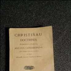 Libros antiguos: EUSKERA. CLÁSICO VASCO DE LA LITERATURA VASCA.. Lote 128095719