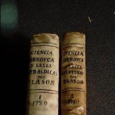 Libros antiguos: HERÁLDICA. BLASONES DE TODA ESPAÑA. EL MARQUÉS DE AVILÉS.. Lote 128097551