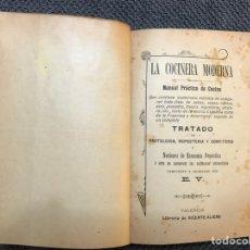 Libros antiguos: LA COCINERA MODERNA. MANUAL PRÁCTICO DE COCINA (A.1888?). Lote 128104536